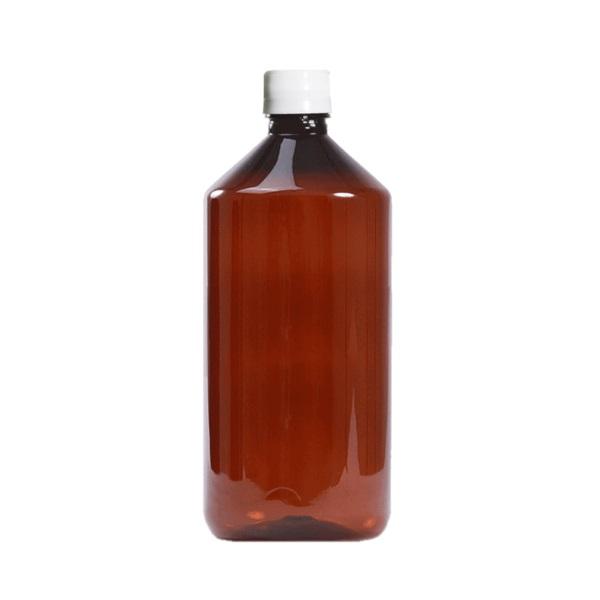 Botella plástica 1 litro